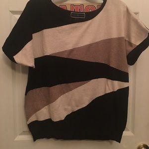 Karen Scott light weight short sleeve sweater